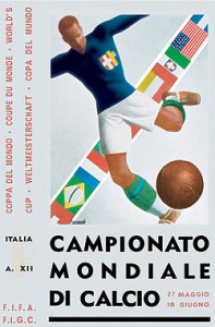 WorldCup1934poster World Cup Memorabilia Auction