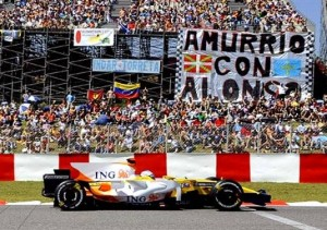 alonsomania Formula 1 Memorabilia Auction