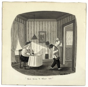 Charles Addams Art