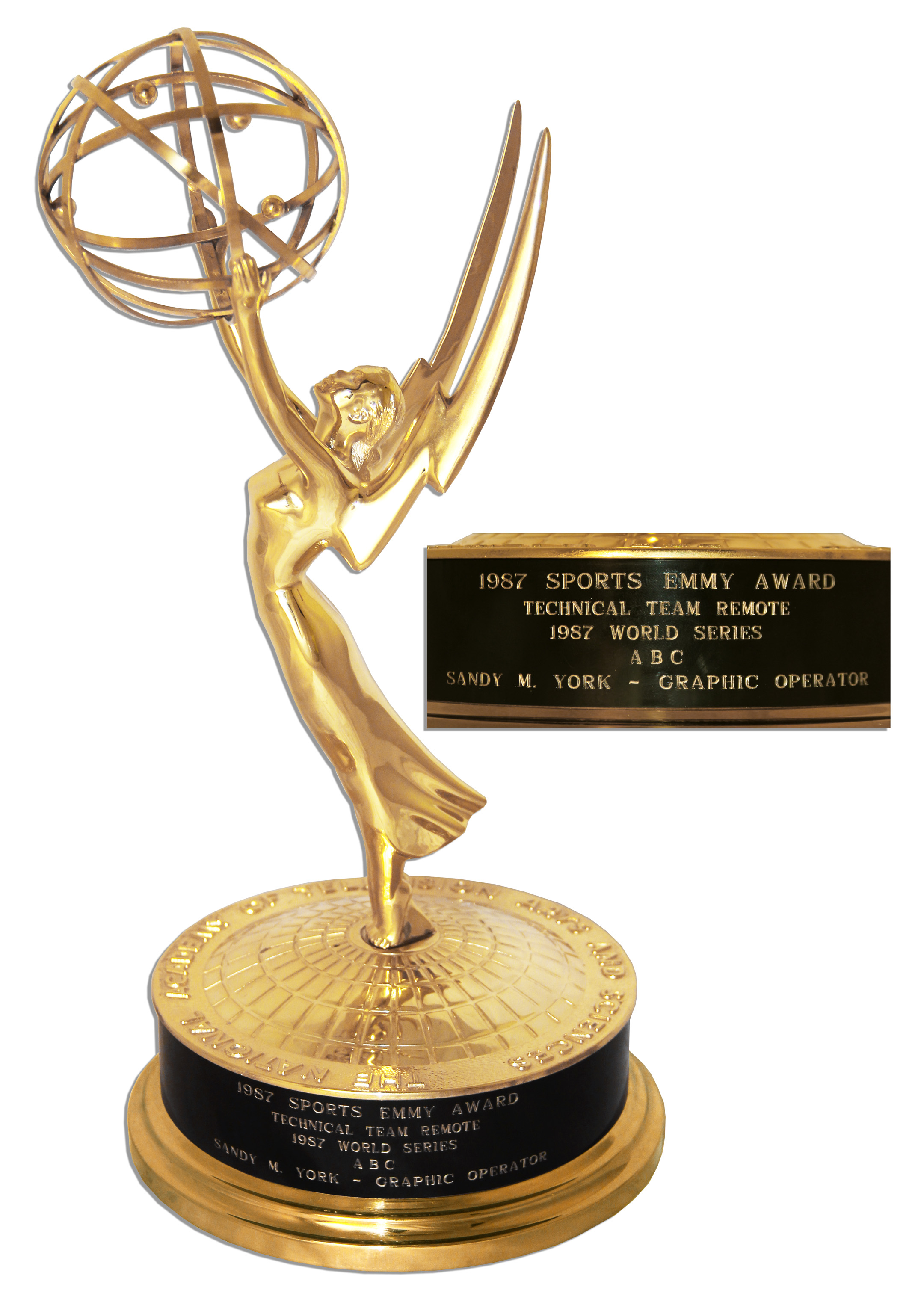 Gold Emmy statuette emerges for sale for a mere $2,500 ...