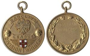 45586 Football Medal Auction