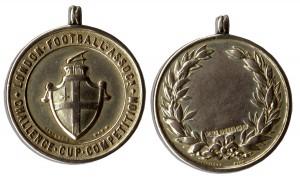 47335 Football Medal Auction