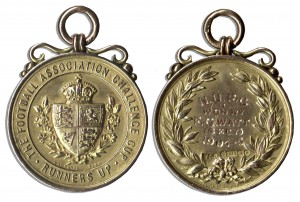47381 Football Medal Auction
