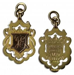 48441 Football Medal Auction