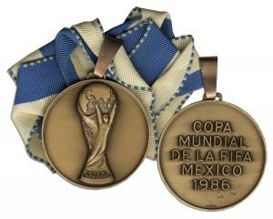 48669 Football Medal Auction
