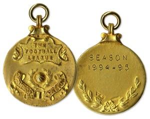 48837 Football Medal Auction