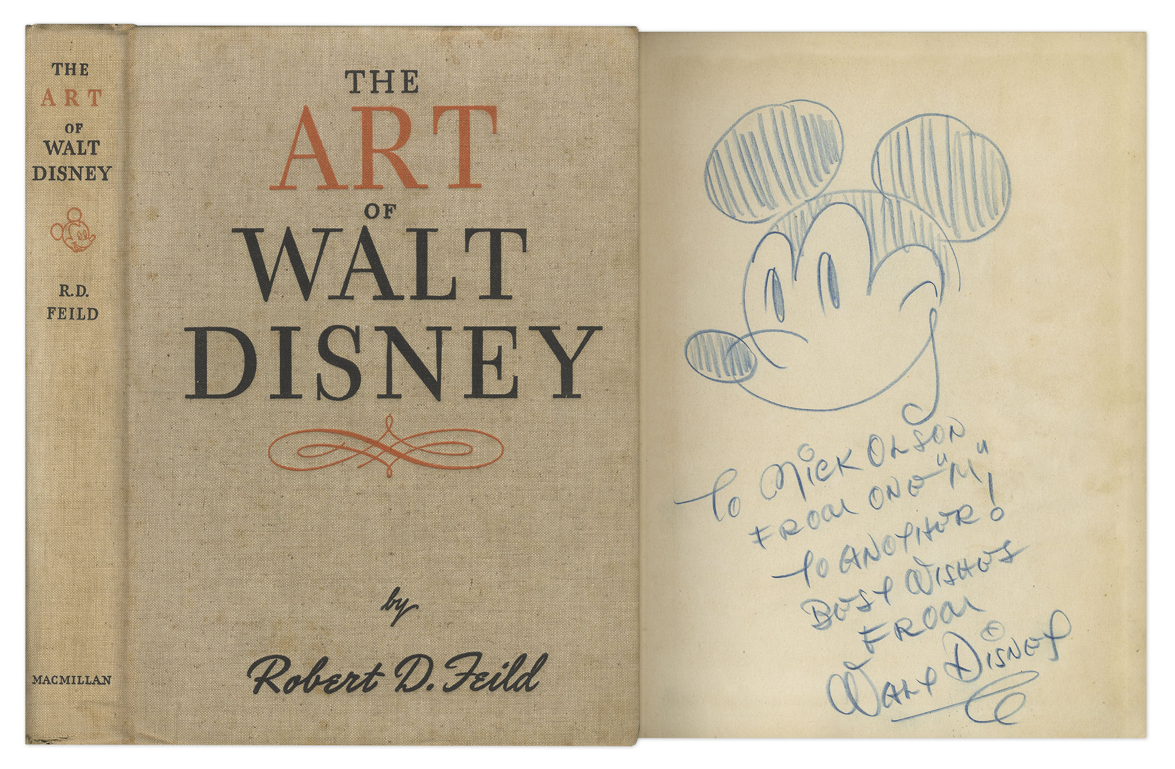 Walt Disney Art Auction Sells Mickey Mouse Drawing For 15 000