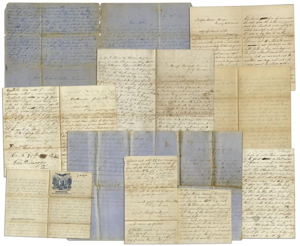 45617 Civil War Letter Auction