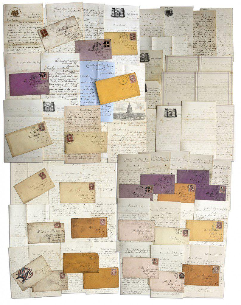 48370 Civil War Diary Auction