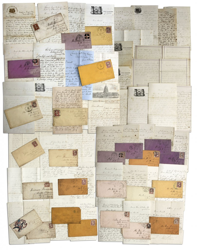 48370 Civil War Letter Auction