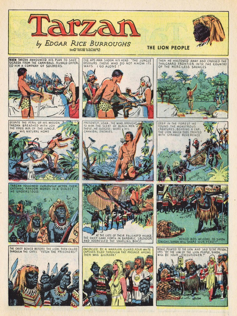 5. Tip_Top_26_04_tarzan Hal Foster Prince Valiant comic art