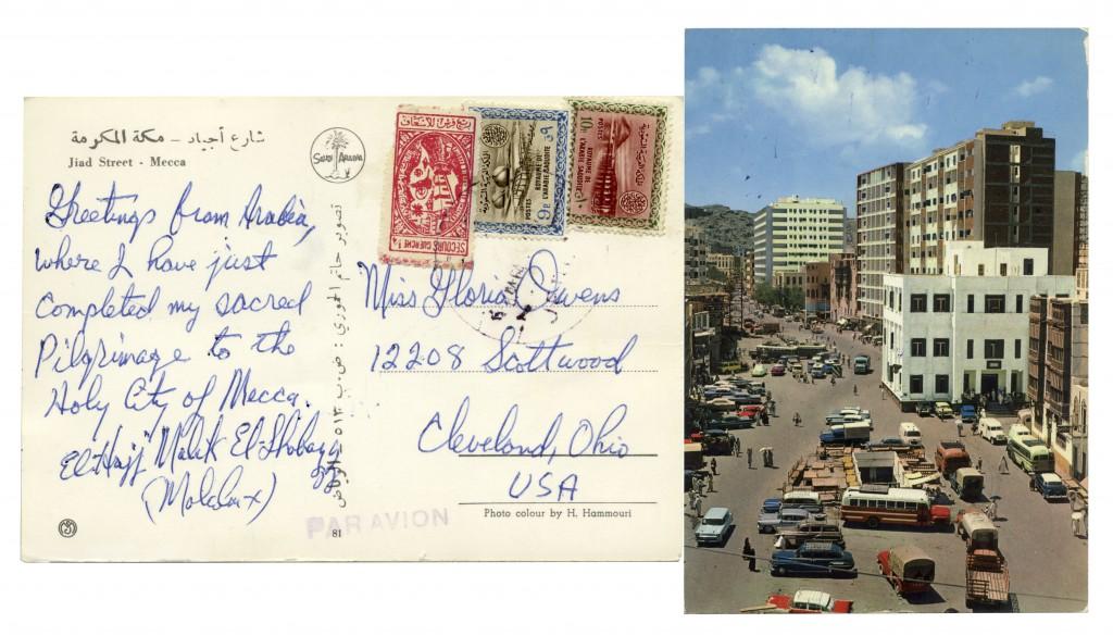 51809 Malcolm X autograph