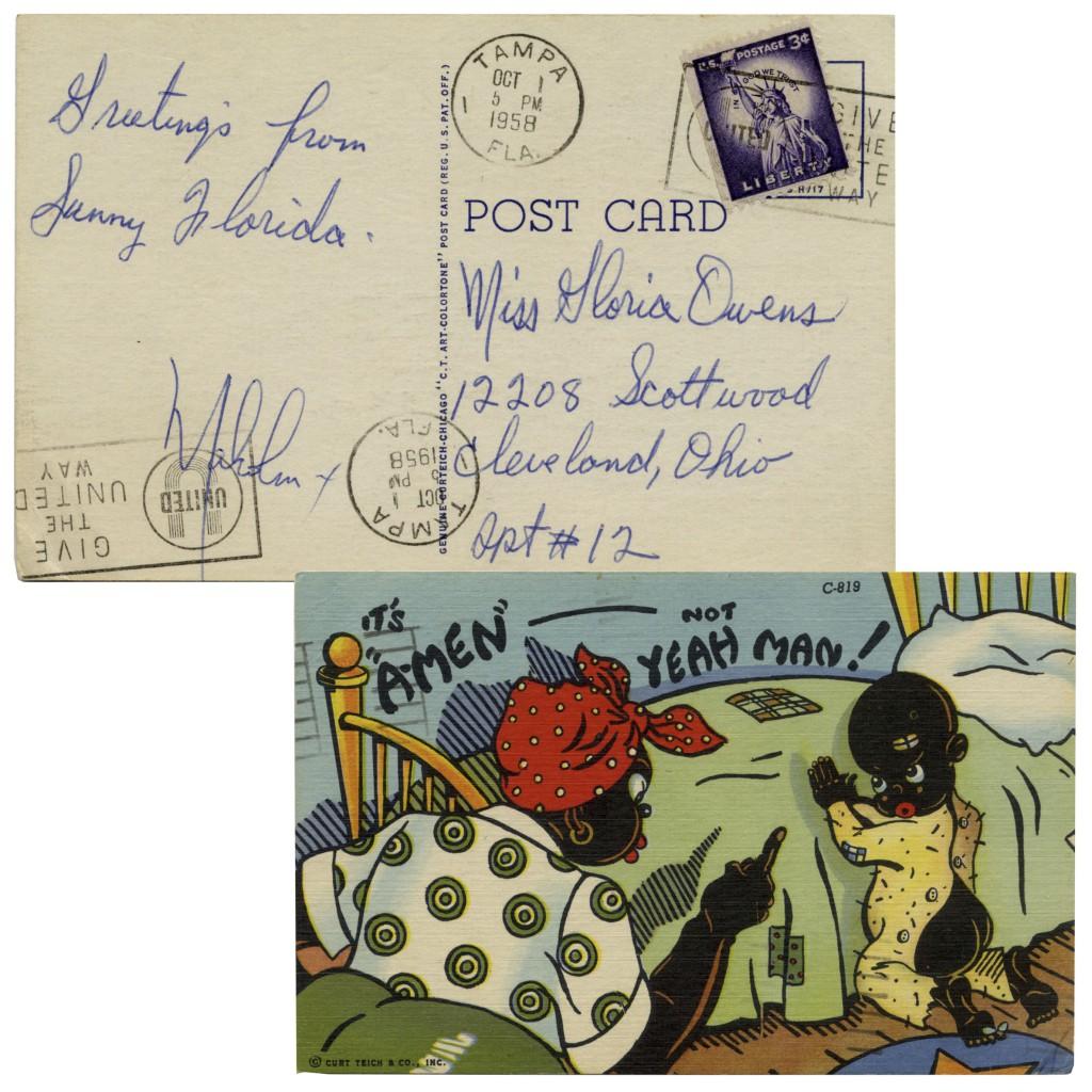 51811 Malcolm X autograph