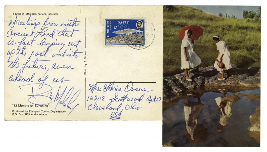 51836 Malcolm X autograph