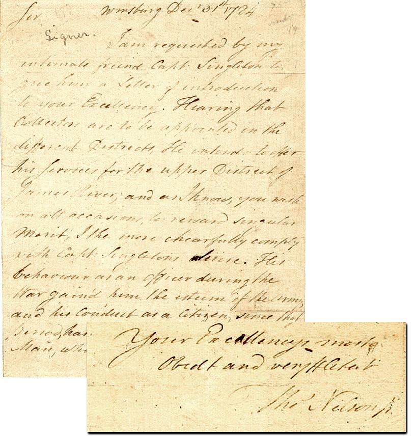 Thomas Nelson Autograph