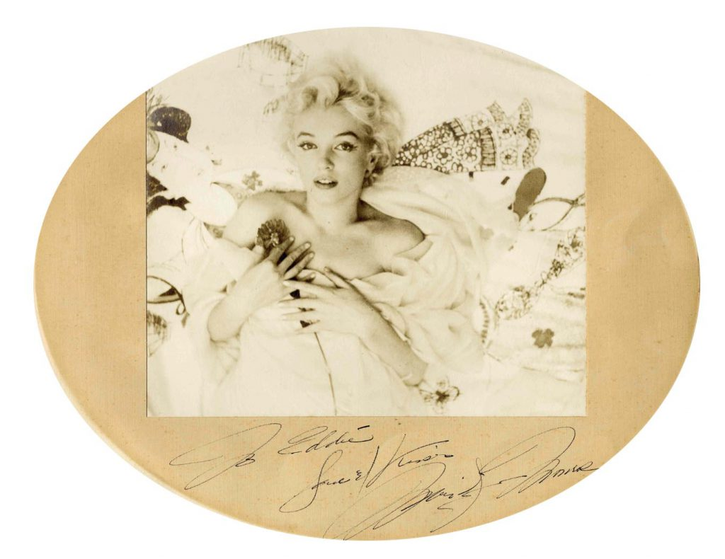 Marilyn Monroe dress auction Beautiful Marilyn Monroe Signed Photograph -- Original Cecil Beaton Silver Gelatin Print -- With PSA/DNA COA