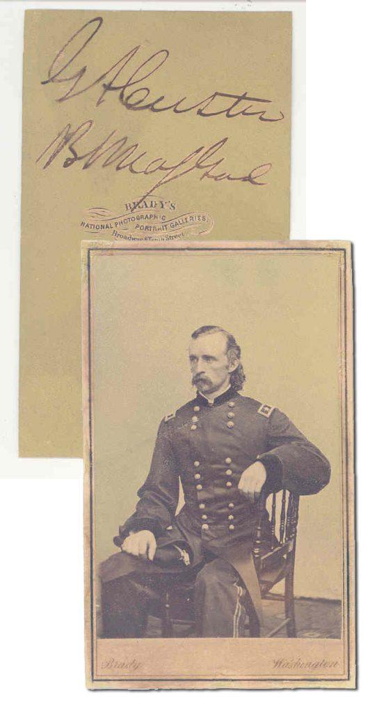 George Custer Autograph