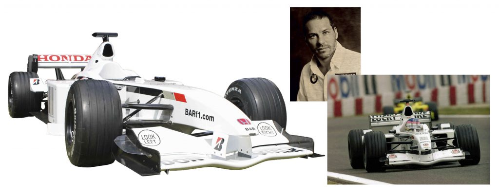 Race Used Formula 1 Car