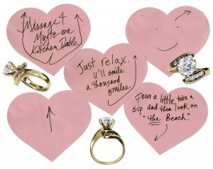 prince worn jewelry Prince Diamond Engagement Ring & Handwritten Marriage Proposal to Mayte Garcia