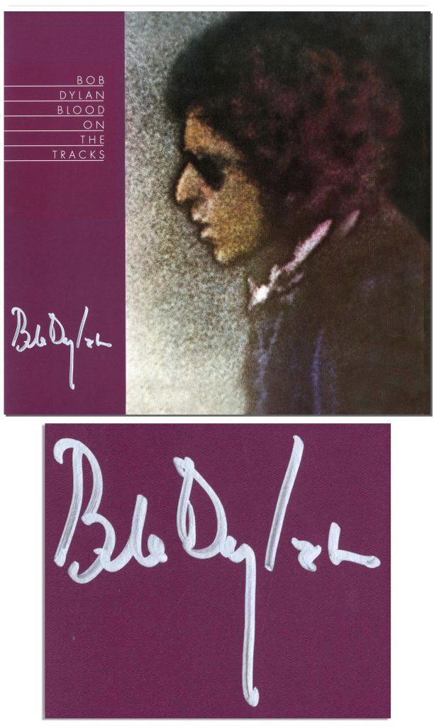 Bob Dylan autograph