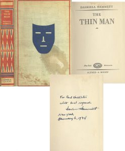 Thin Man First Edition