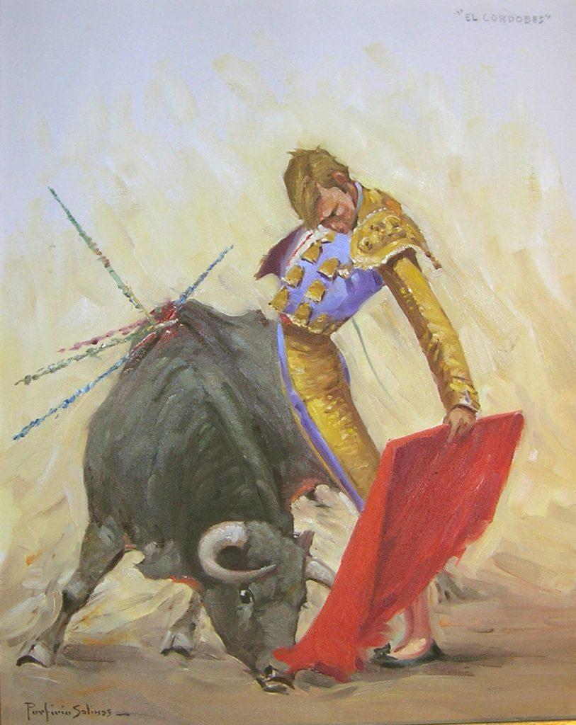 Porfirio Salinas Painting