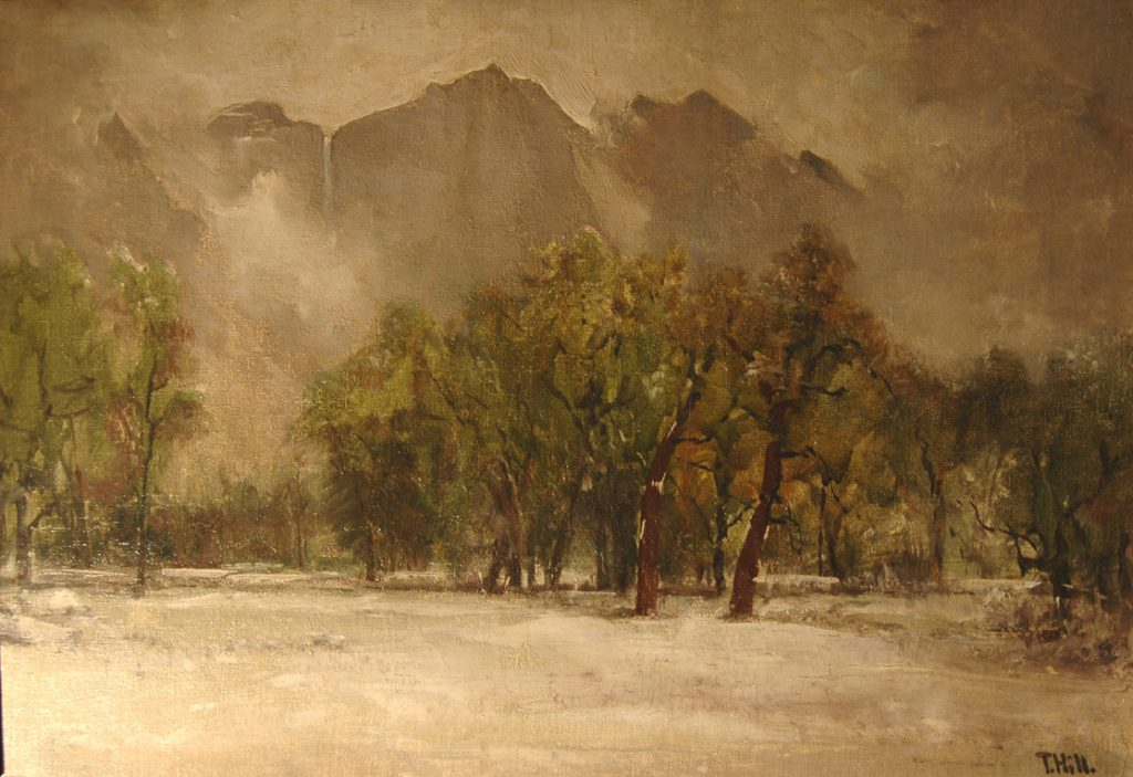 Thomas Hill Painting