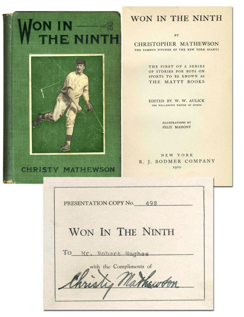 Christy Mathewson Autograph