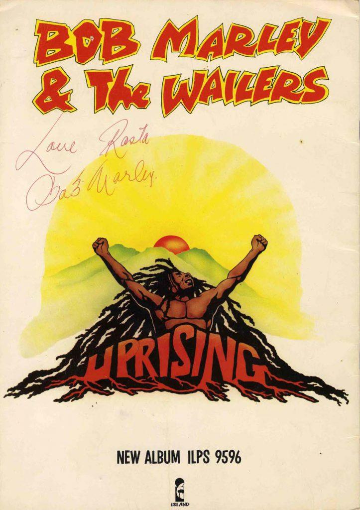 Bob Marley Autograph