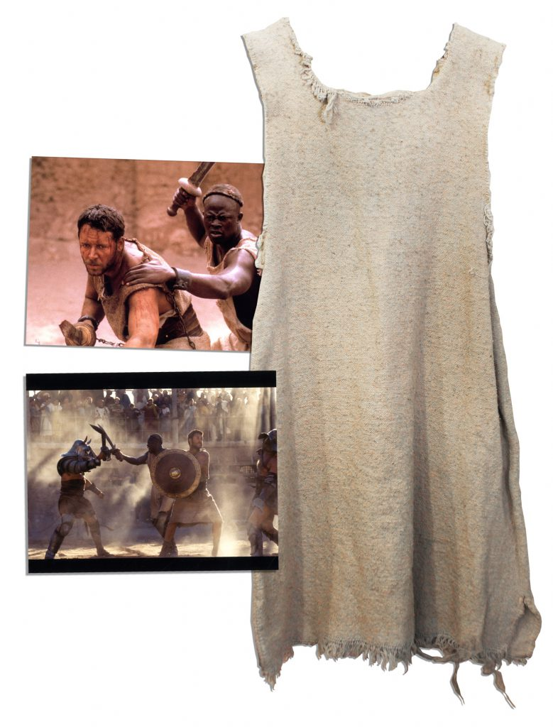 Gladiator Costume Auction