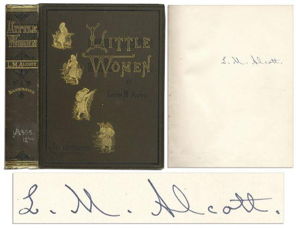 Louisa May Alcott Autograph