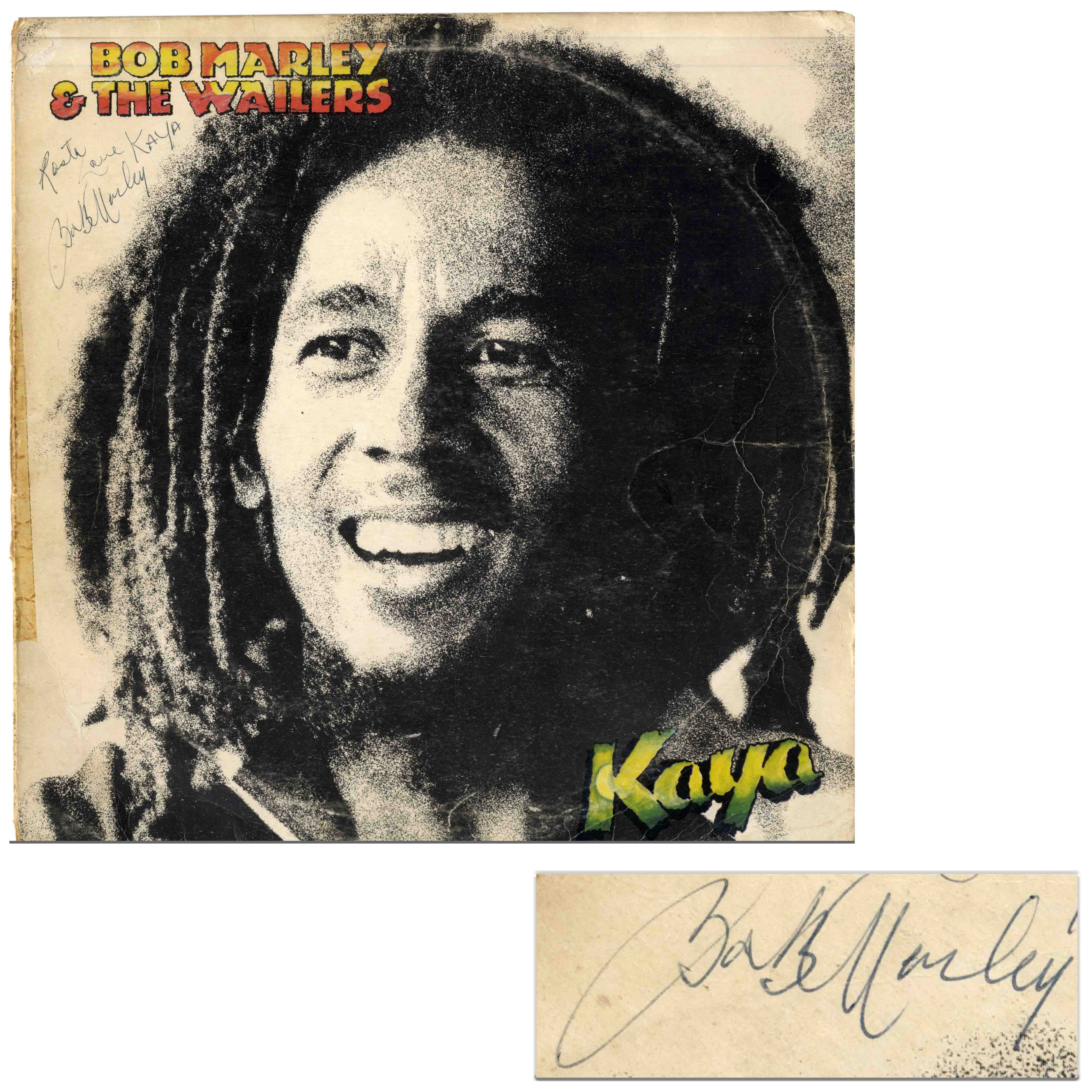 Free Appraisal For Your Bob Marley Autograph From Nate D