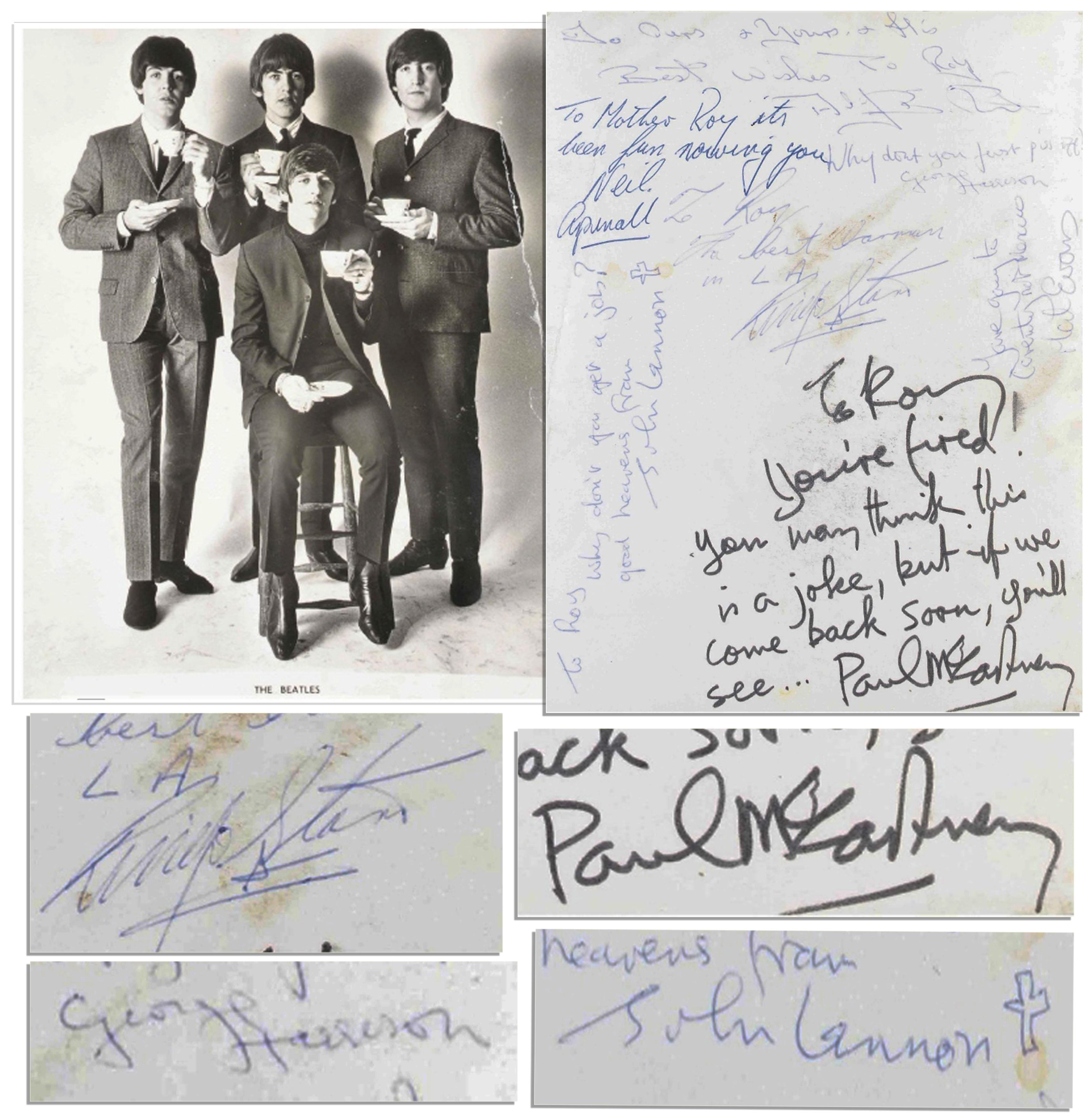 Famous Celebrity Autographs - Barnorama