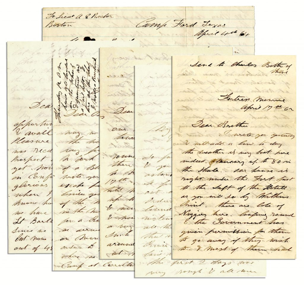 Texas Civil War Letters
