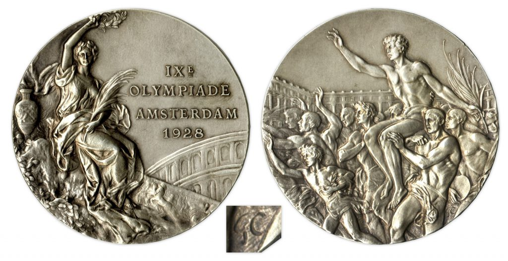 Silver 2008 Beijing Olympics Medal
