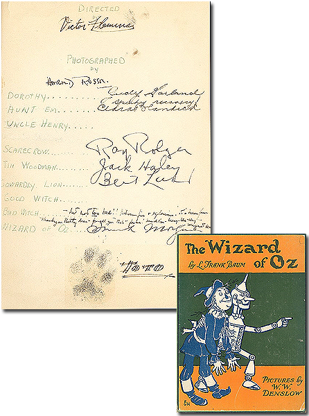 Wizard of Oz Autographs
