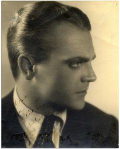 James Cagney Memorabilia Autograph