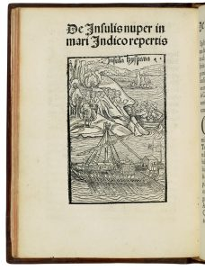 Christopher Columbus Memorabilia Christopher Columbus De Insulis Nuper In Mari Indico Inventis