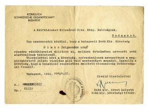 Oskar Schindler Autographs