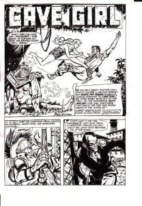 Bob Powell art comic