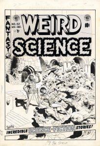 Wally Wood comic art