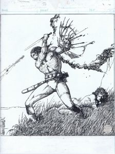 Barry Smith comic art