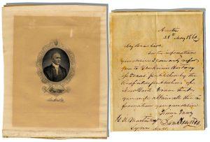 Sam Houston Autograph