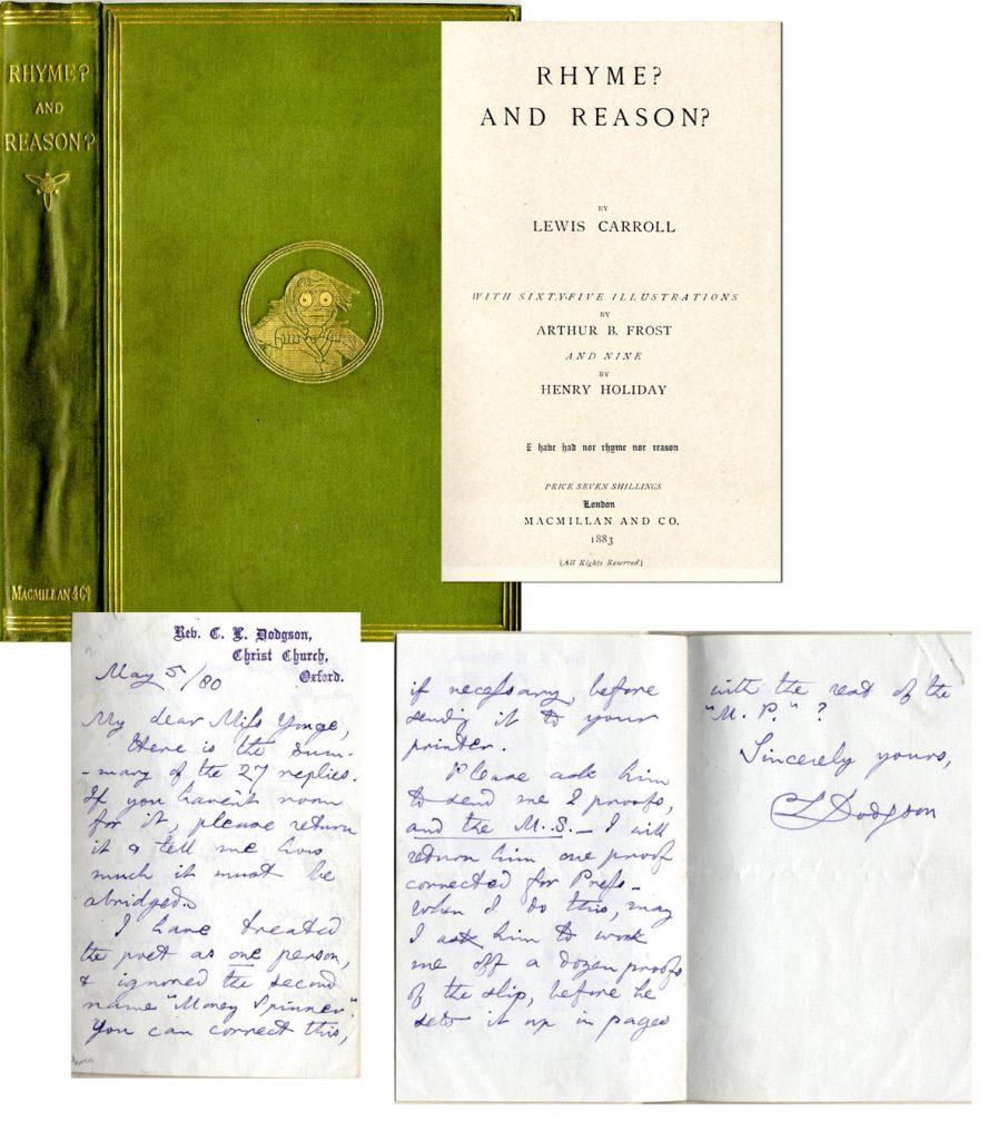 Lewis Carroll Autograph
