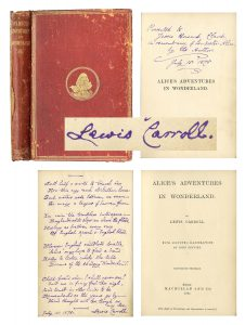 Alice in Wonderland Signed Book