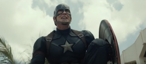 Captain America screen worn costume