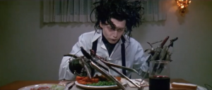 Edward Scissorhands prop