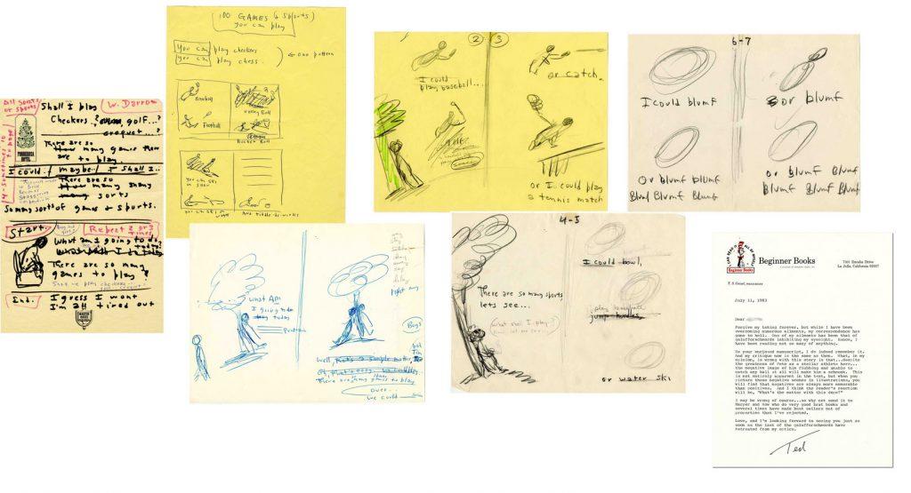 Dr. Seuss Art 31016 Dr. Seuss Autograph