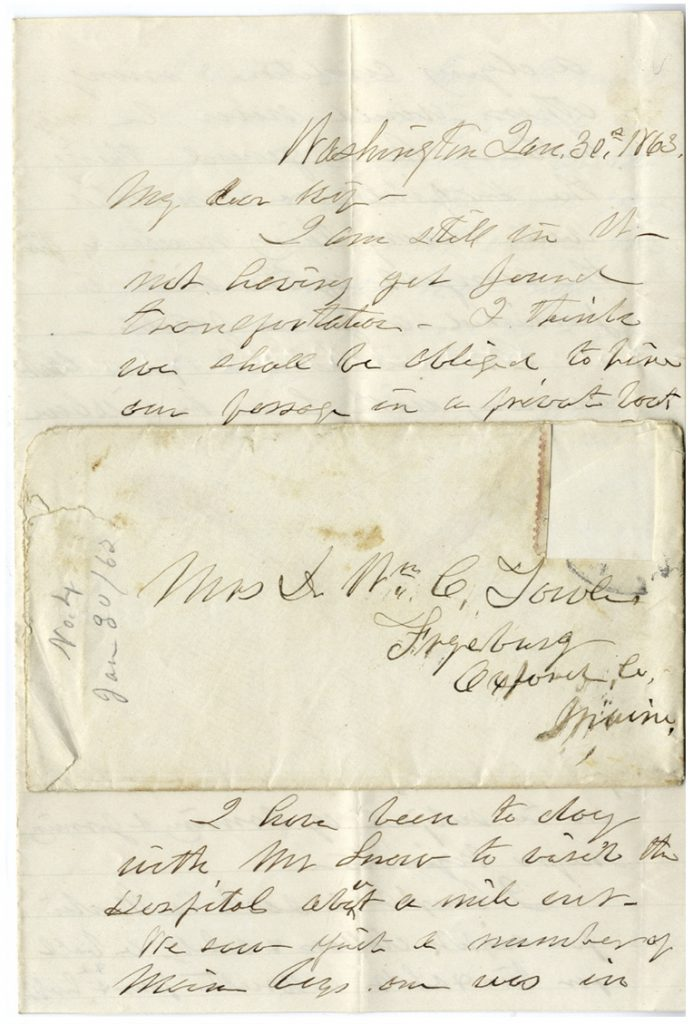 Maine Civil War Letters