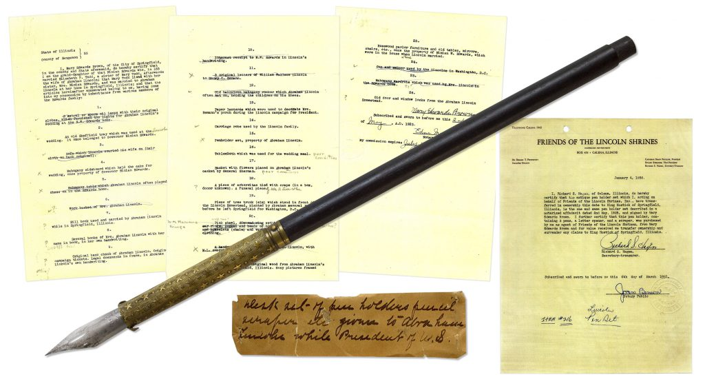 Abraham Lincoln Pen